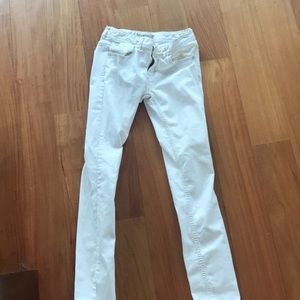 Denim - Free people skinny white jeans